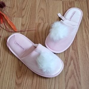 New! Super cute slippers By Victoria Secret Pink M
